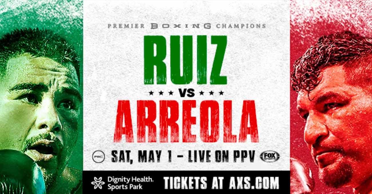 Andy Ruiz Jr vs Chris Arreola full fight video poster 2021-05-01
