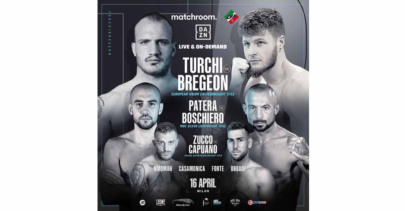 Fabio Turchi vs Dylan Bregeon full fight video poster 2021-04-16