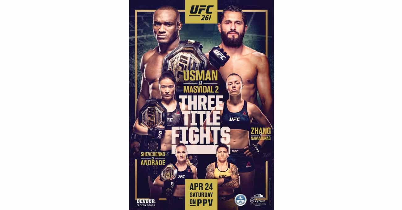 Poster of UFC 261: Usman vs Masvidal 2