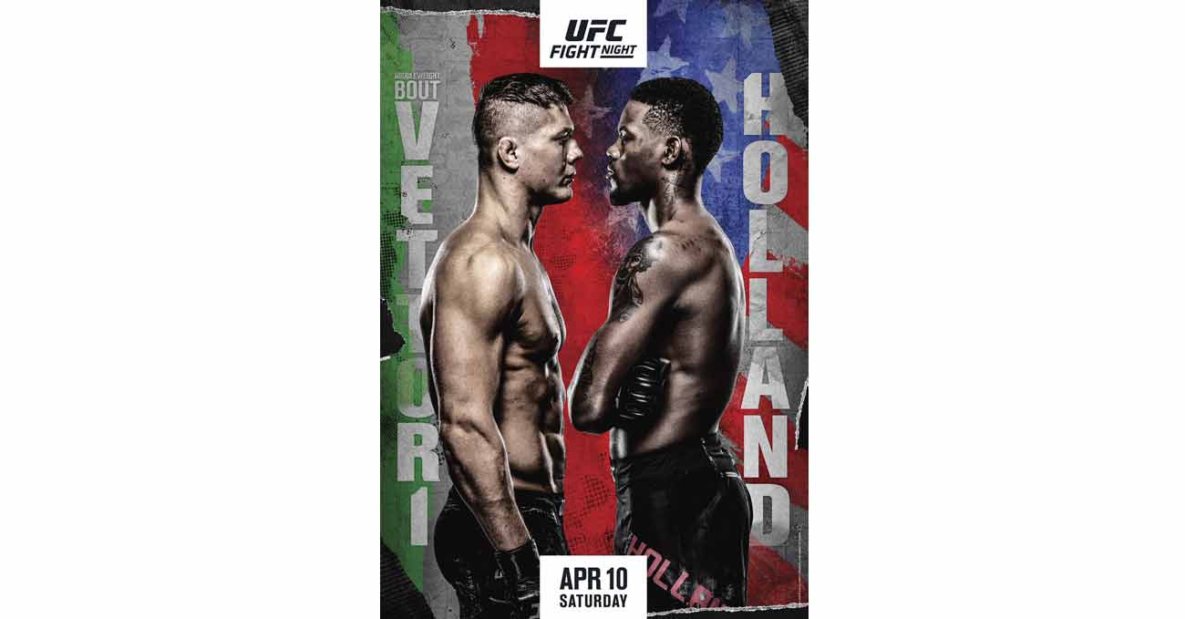 Poster of UFC Vegas 23: Vettori vs Holland