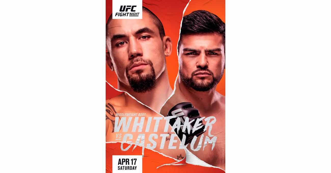 Poster of UFC Vegas 24: Whittaker vs Gastelum