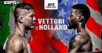 Poster of Vettori vs Holland Ufc Vegas 23