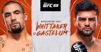 Poster of Robert Whittaker vs Kelvin Gastelum Ufc Vegas 24