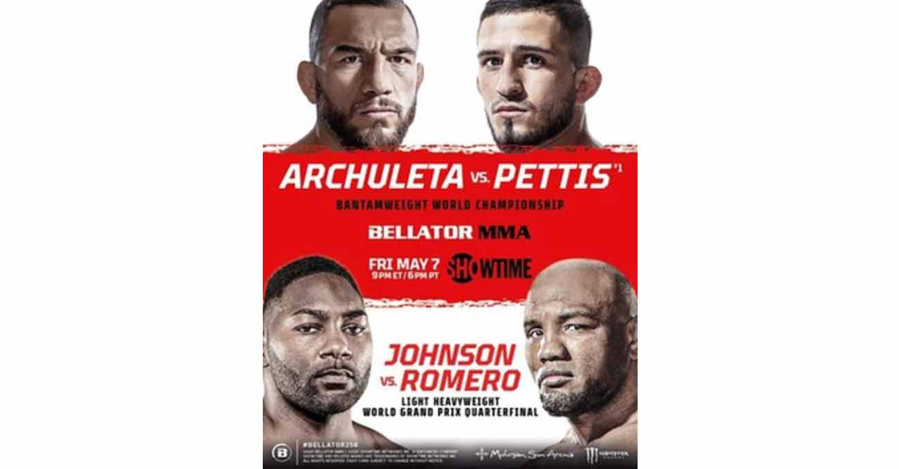 Poster of Bellator 258: Archuleta vs Pettis