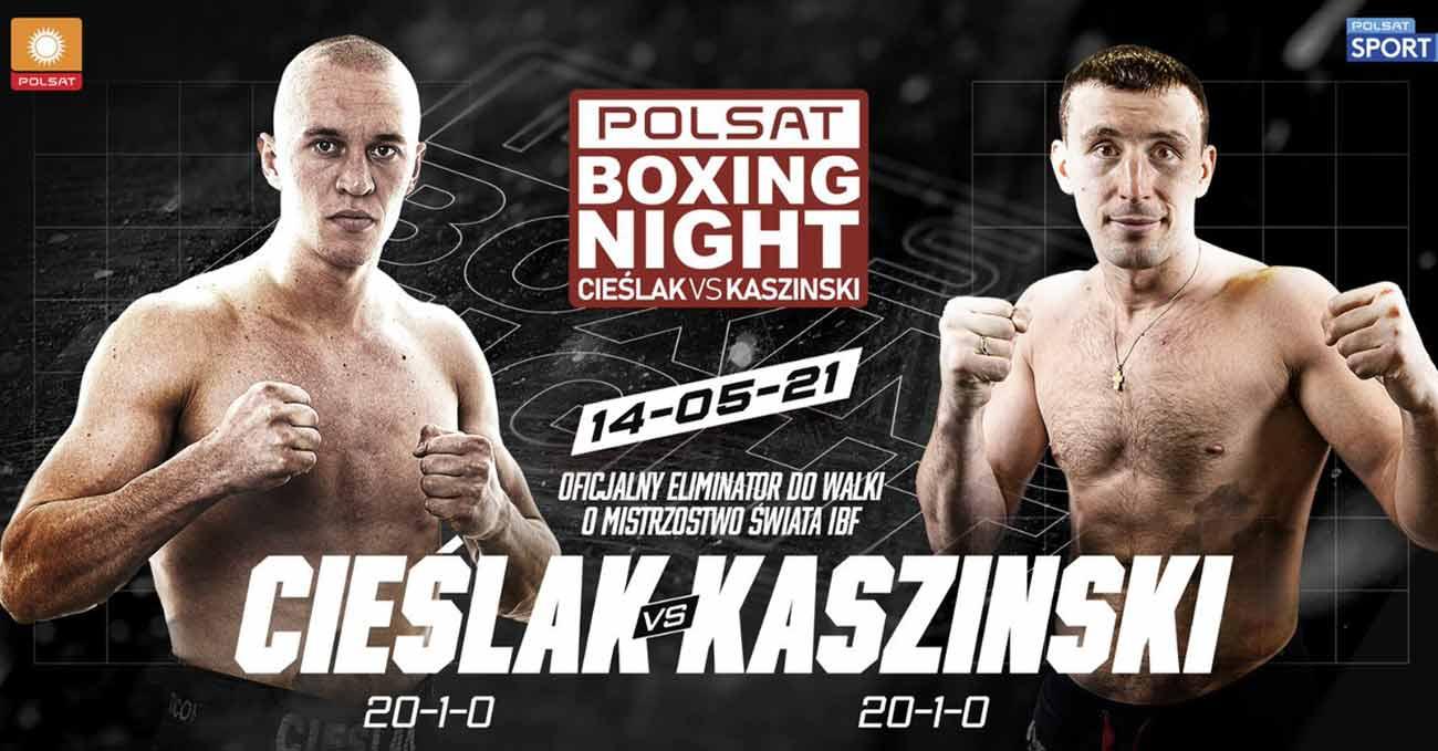 Michal Cieslak vs Yury Kashinsky full fight video poster 2021-05-14