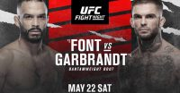 Poster of Font vs Garbrandt Ufc Vegas 27