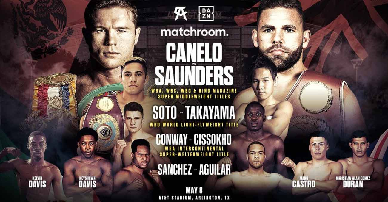 Poster of Canelo vs Saunders 2021-05-08