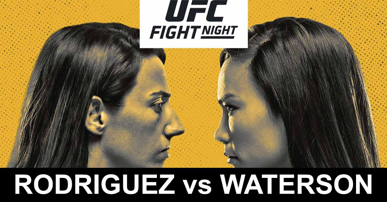 Marina Rodriguez vs Michelle Waterson full fight video UFC Vegas 26 poster