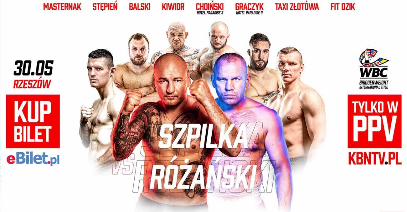 Artur Szpilka vs Lukasz Rozanski full fight video poster 2021-05-30