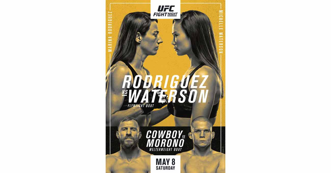 Poster of UFC Vegas 26: Rodriguez vs Waterson
