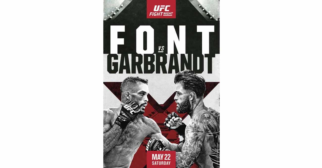 Poster of UFC Vegas 27: Font vs Garbrandt