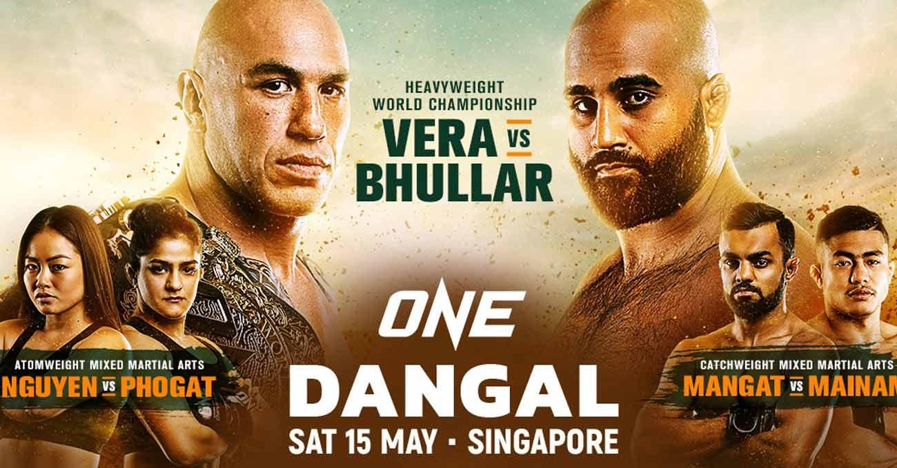 Brandon Vera vs Arjan Singh Bhullar full fight video ONE Dangal poster