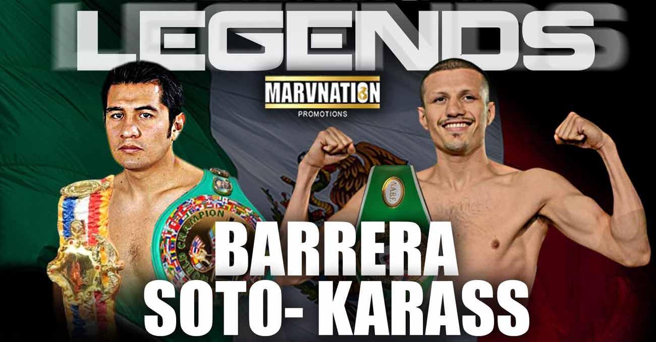 Marco Antonio Barrera vs Jesus Soto Karass full fight video poster 2021-06-11
