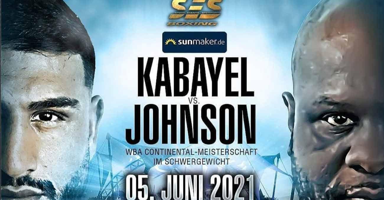 Agit Kabayel vs Kevin Johnson full fight video poster 2021-06-05