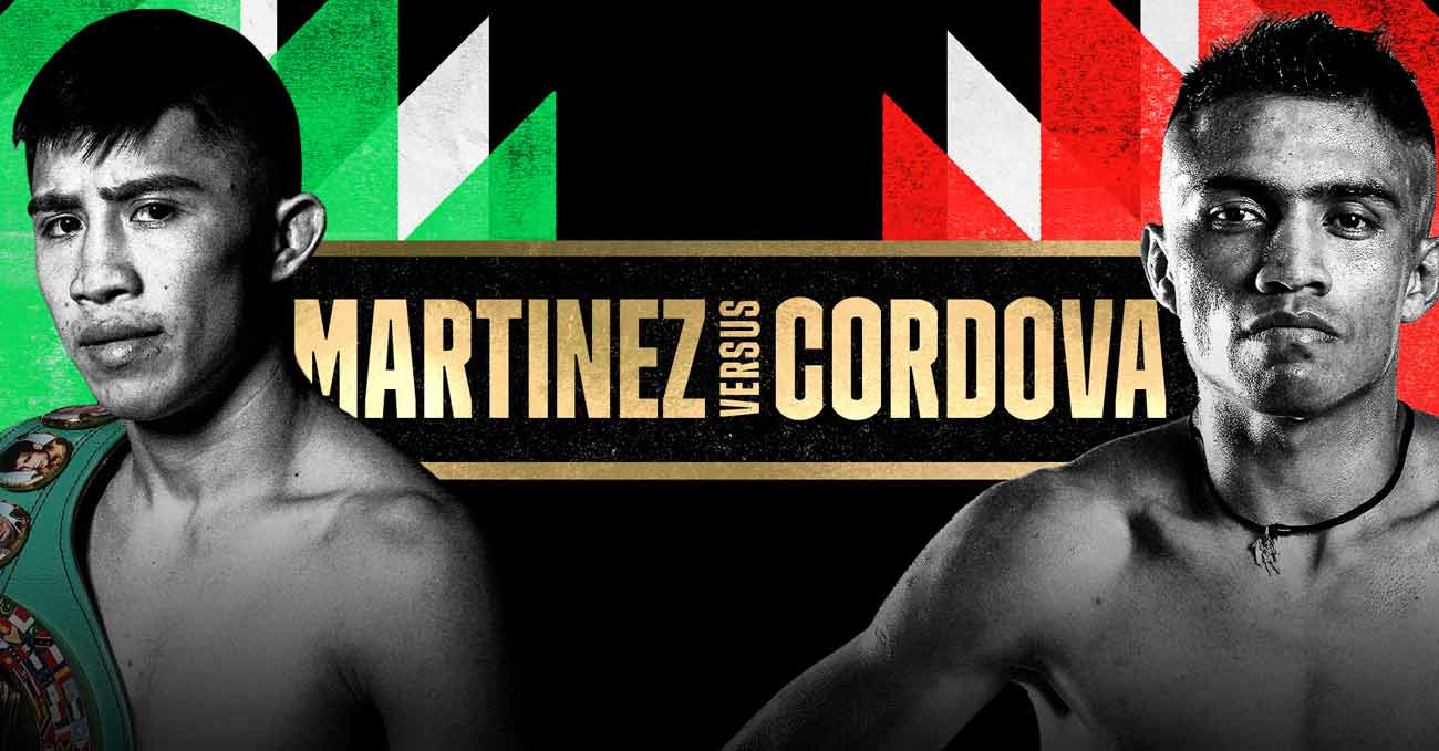 Julio Cesar Martinez Aguilar vs Joel Cordova full fight video poster 2021-06-26