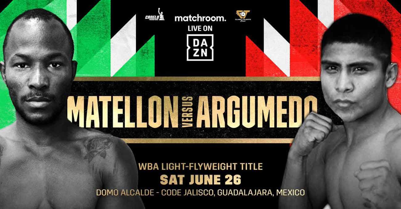Poster of Matellon vs Argumedo 2021-06-26