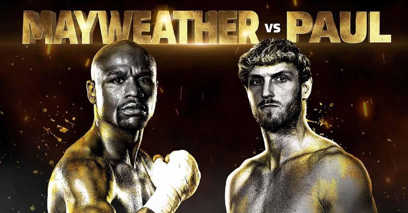 Floyd Mayweather Jr vs Logan Paul full fight video poster 2021-06-06