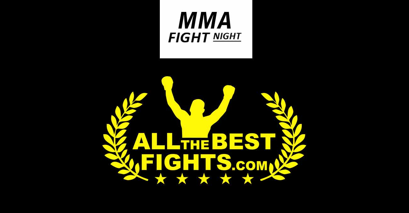 Mma full fight video poster designed by AllTheBestFights.com