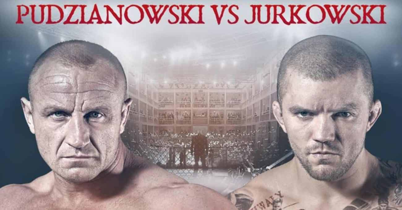 Mariusz Pudzianowski vs Lukasz Jurkowski full fight video KSW 61 poster