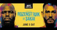 Poster of Jairzinho Rozenstruik vs Augusto Sakai Ufc Vegas 28