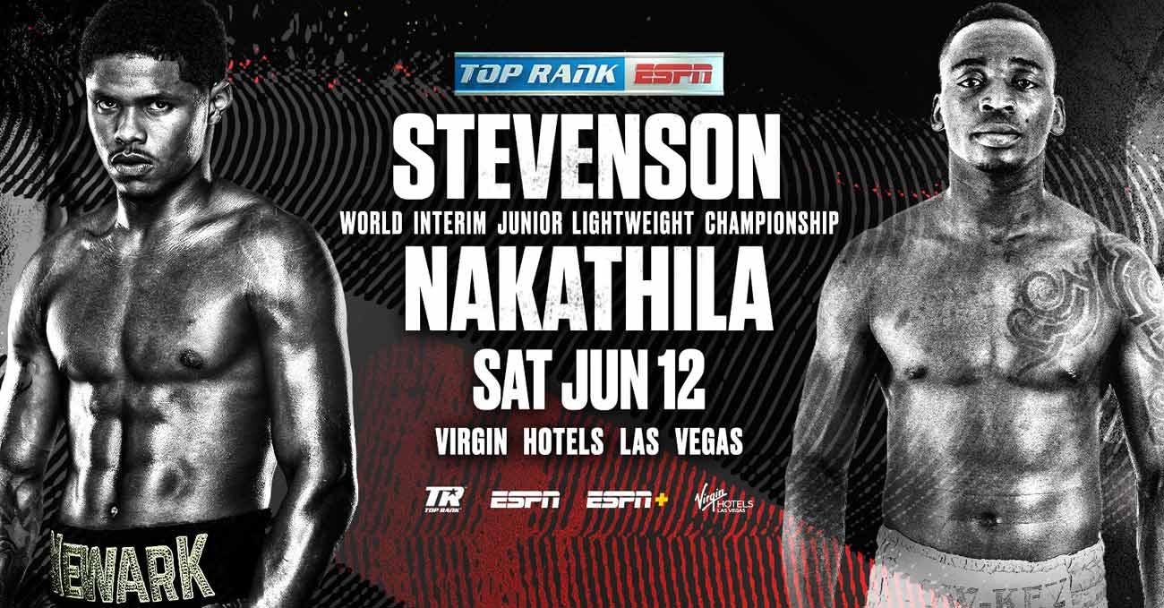 Shakur Stevenson vs Jeremia Nakathila full fight video poster 2021-06-12