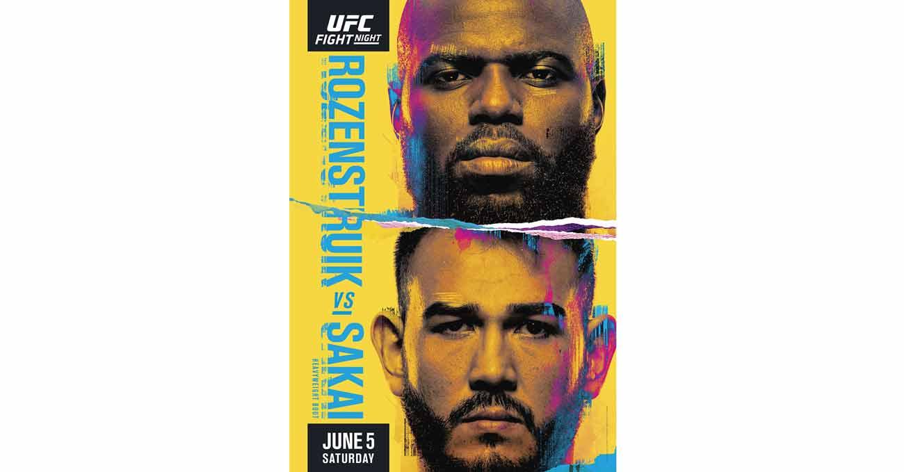 Poster of UFC Vegas 28: Rozenstruik vs Sakai