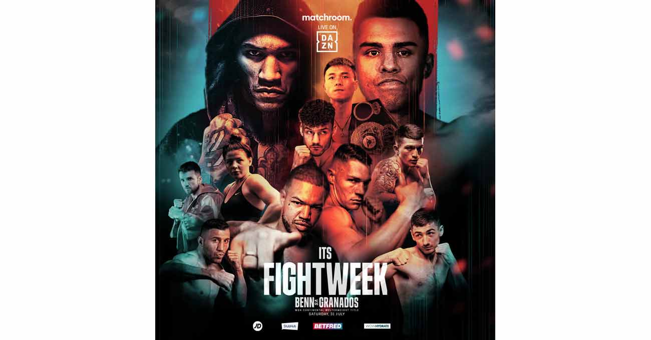 Poster of Benn vs Granados 2021-07-31