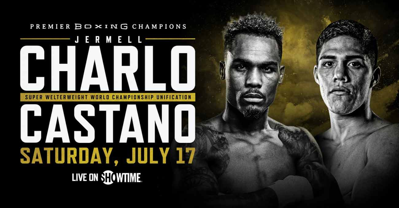 Jermell Charlo vs Brian Carlos Castano full fight video poster 2021-07-17