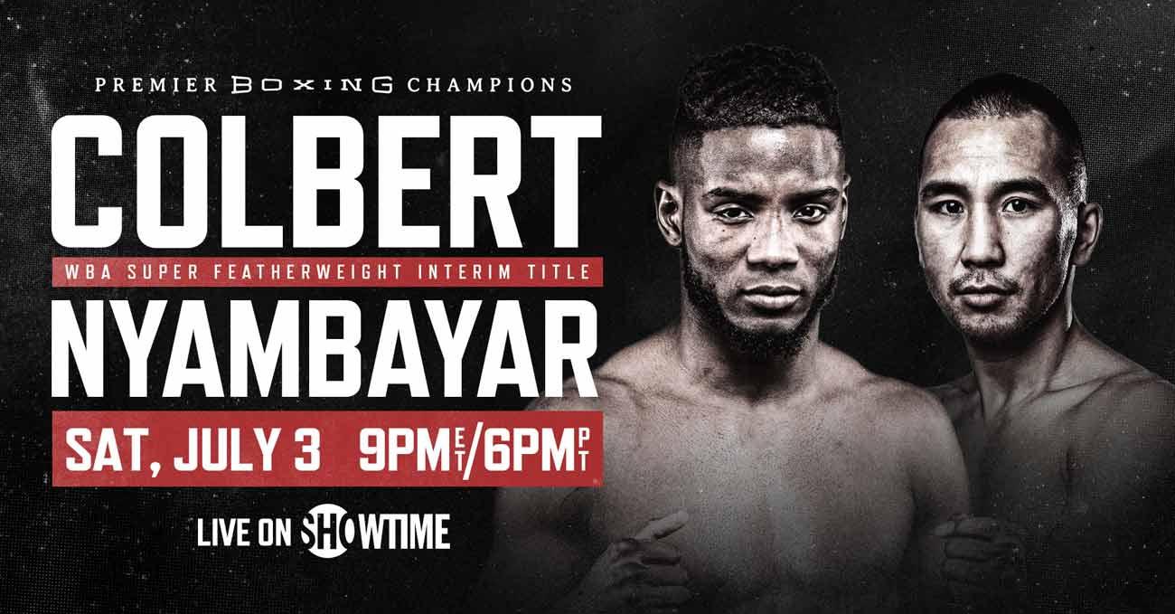 Chris Colbert vs Tugstsogt Nyambayar full fight video poster 2021-07-03