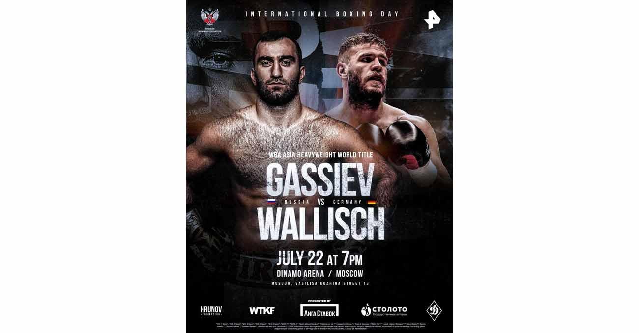 Murat Gassiev vs Michael Wallisch full fight video poster 2021-07-22