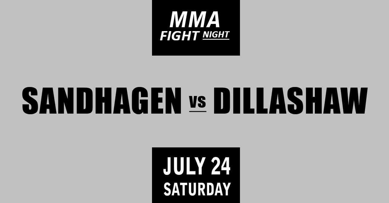 Cory Sandhagen vs TJ Dillashaw full fight video UFC Vegas 32 poster by ATBF