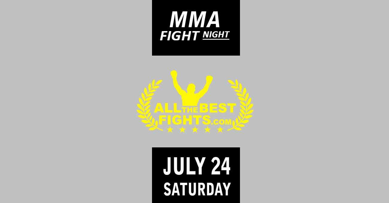 Poster of UFC Vegas 32: Sandhagen vs Dillashaw by ATBF