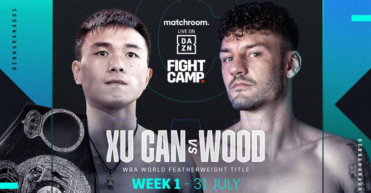 Can Xu vs Leigh Wood full fight video poster 2021-07-31