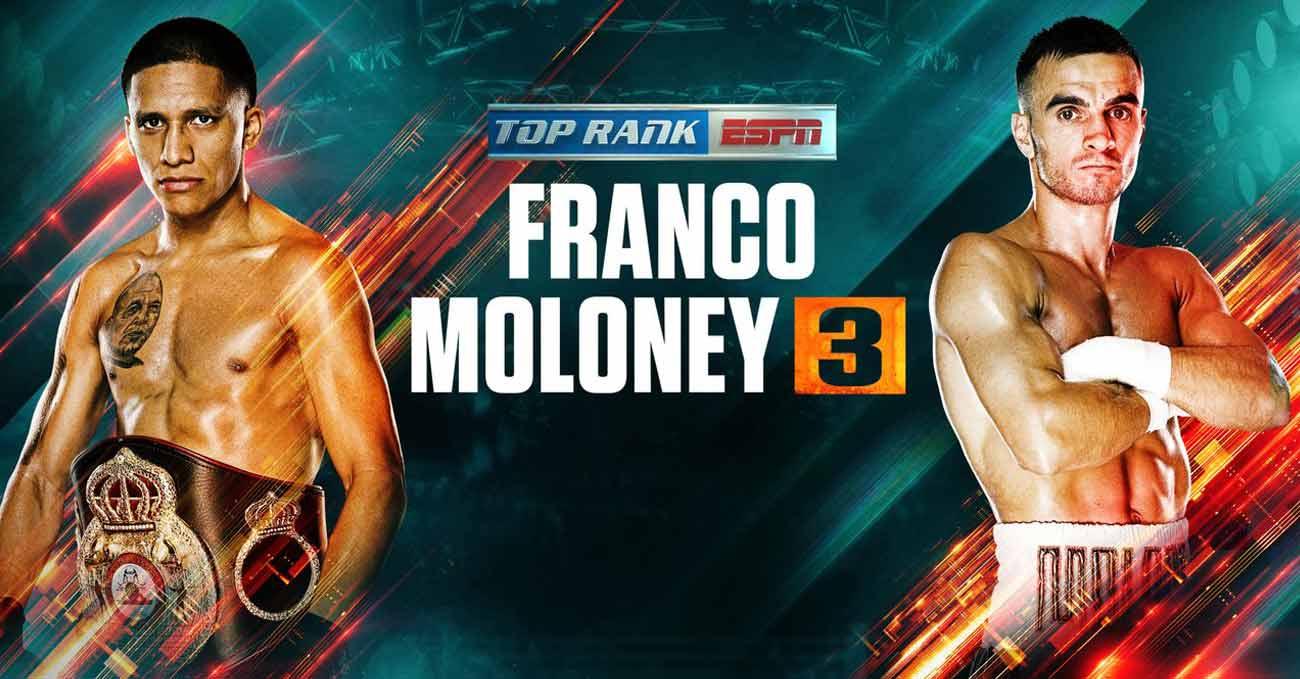 Joshua Franco vs Andrew Moloney 3 full fight video poster 2021-08-14