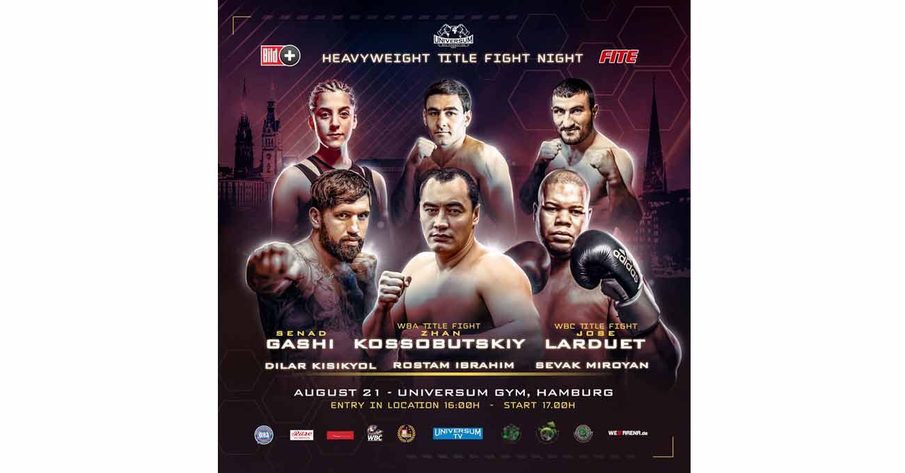 Zhan Kossobutskiy vs Joey Dawejko full fight video poster 2021-08-21