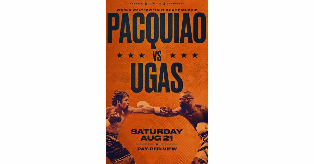 Poster of Pacquiao vs Ugas 2021-08-21