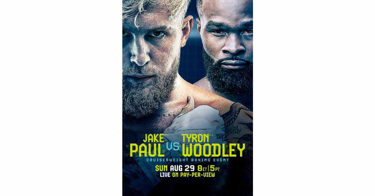 Poster of Paul vs Woodley 2021-08-29