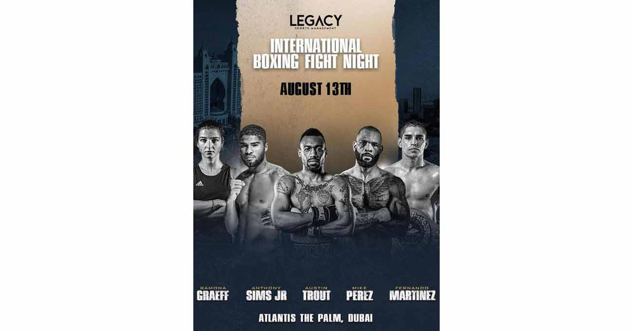 Austin Trout vs Alejandro Davila full fight video poster 2021-08-13