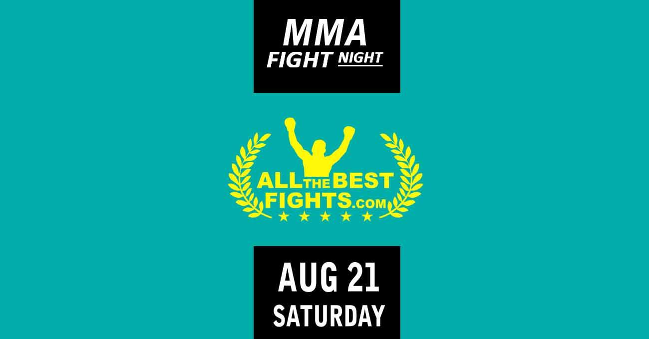 Poster of UFC Vegas 34: Cannonier vs Gastelum by ATBF
