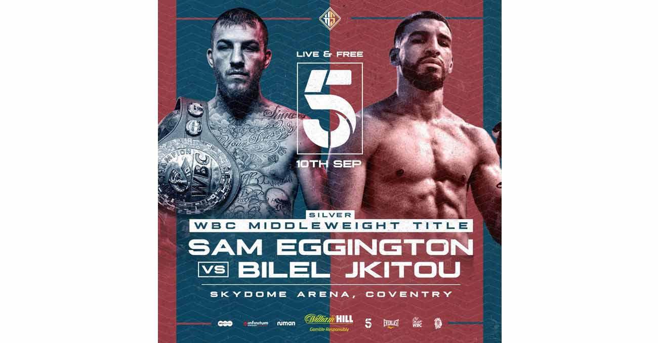 Sam Eggington vs Bilel Jkitou full fight video poster 2021-09-10