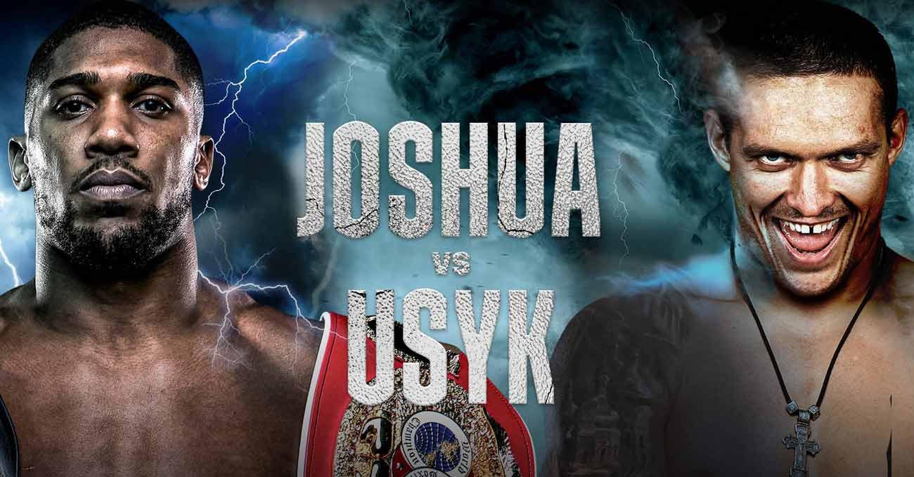 Anthony Joshua vs Oleksandr Usyk full fight video poster 2021-09-25