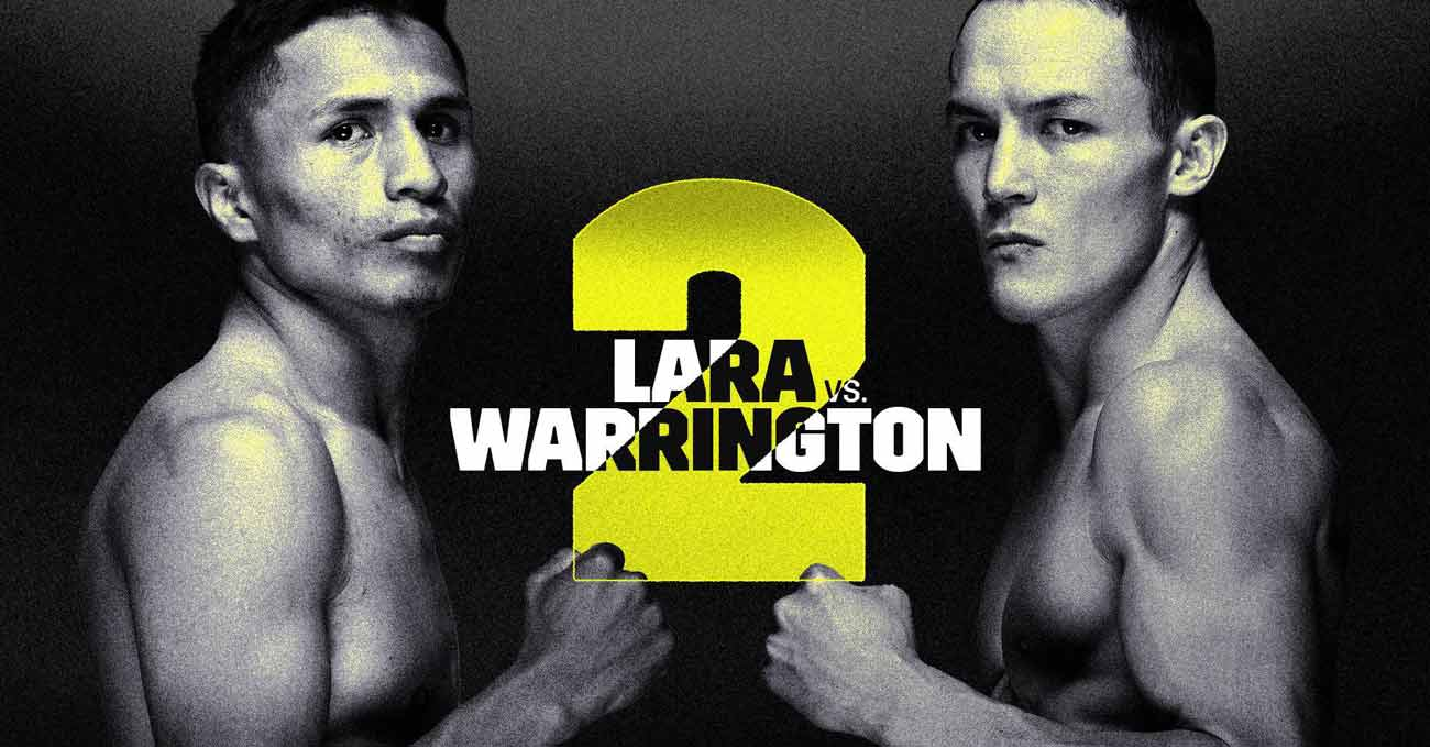 Mauricio Lara vs Josh Warrington 2 full fight video poster 2021-09-04