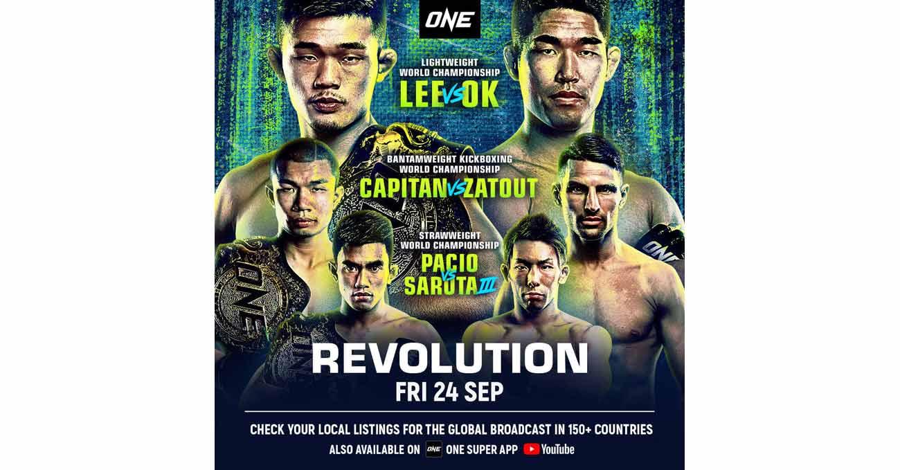 Christian Lee vs Rae Yoon Ok full fight video ONE Revolution poster