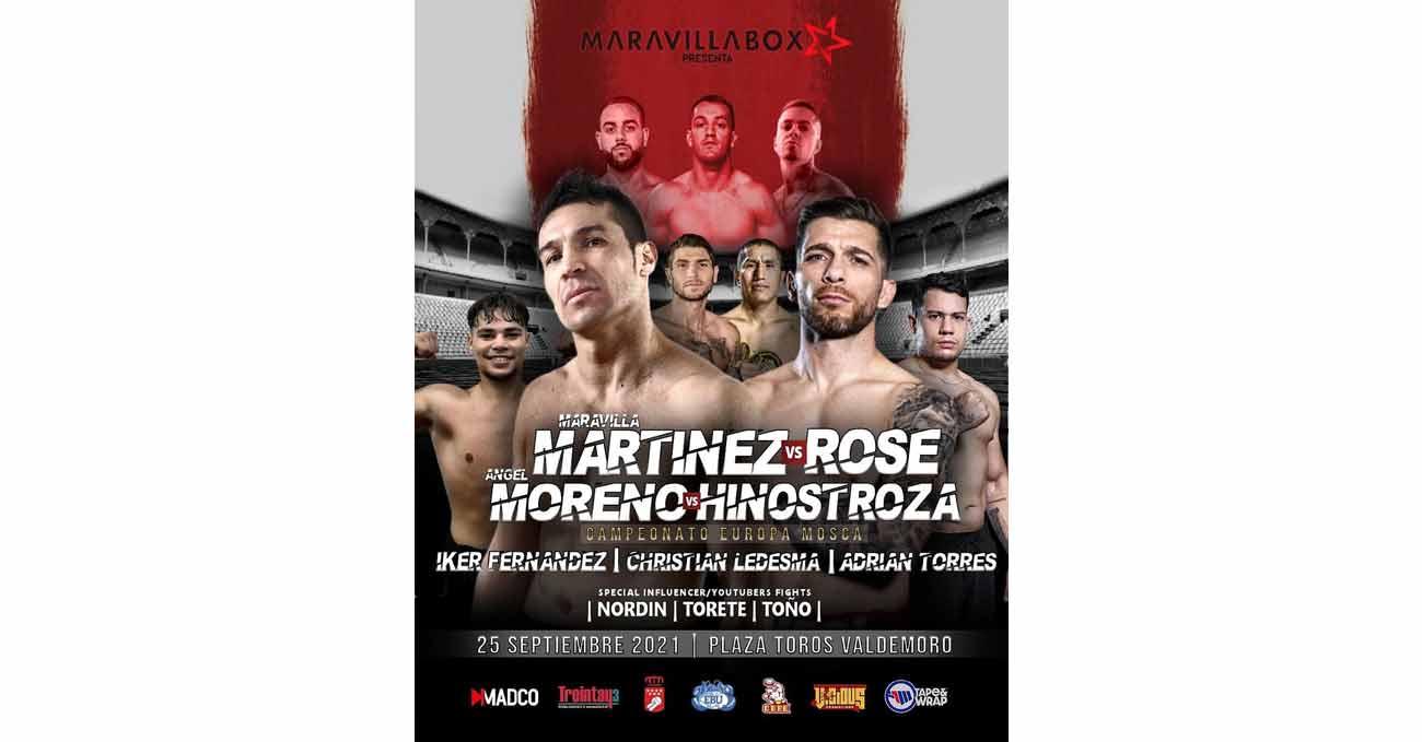 Sergio Gabriel Martinez vs Brian Rose full fight video poster 2021-09-25