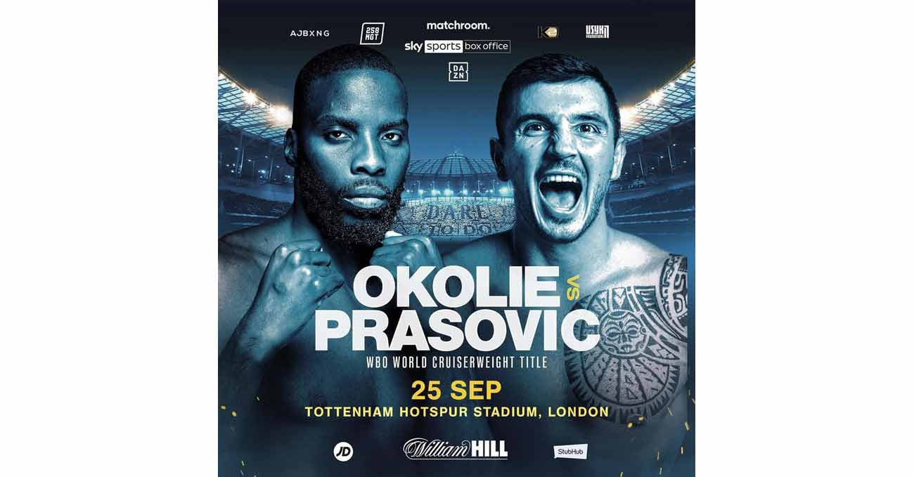 Lawrence Okolie vs Dilan Prasovic full fight video poster 2021-09-25