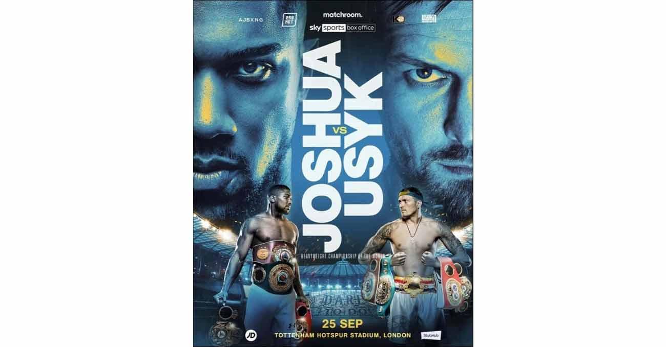 Poster of Joshua vs Usyk 2021-09-25