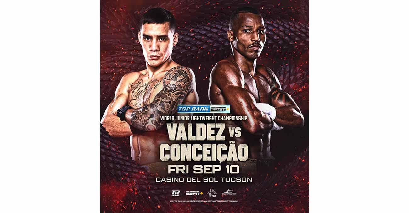 Poster of Valdez vs Conceicao 2021-09-10