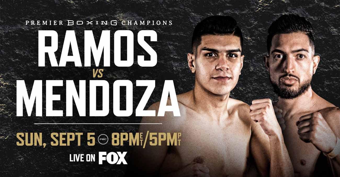 Jesus Alejandro Ramos vs Brian Mendoza full fight video poster 2021-09-05
