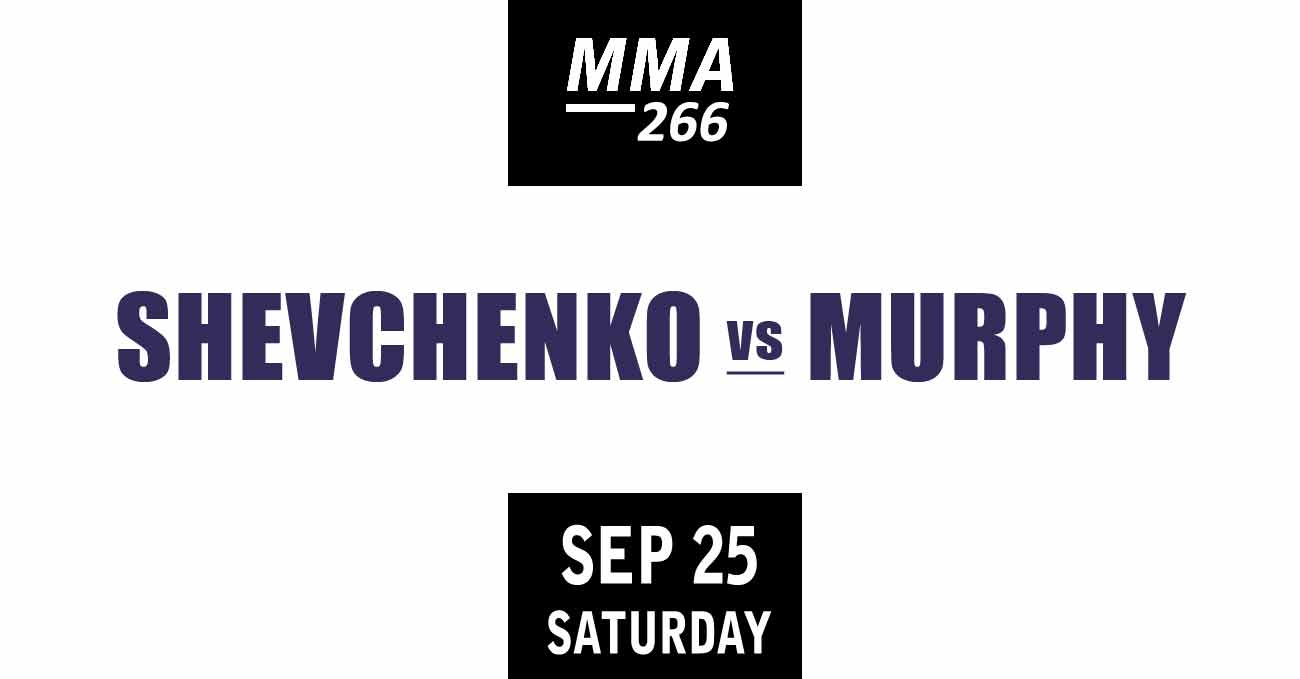 Valentina Shevchenko vs Lauren Murphy full fight video UFC 266 poster by ATBF