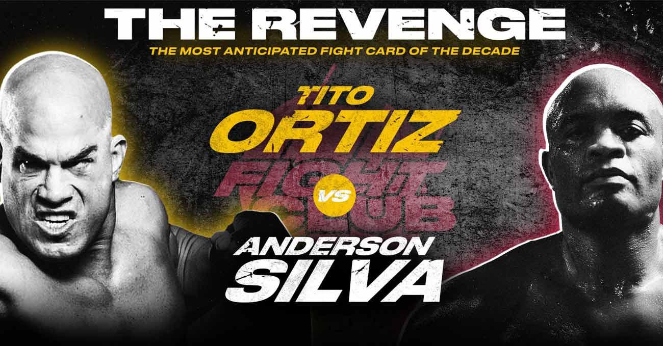 Anderson Silva vs Tito Ortiz full fight video poster 2021-09-11